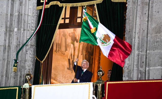 Independence Day celebrations held in Mexico City
