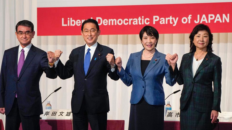 Campaigning for Japanese ruling party's leadership race starts