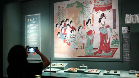 Exhibition themed on Dunhuang culture held at Palace Museum