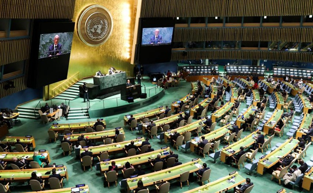World leaders pledge to fight pandemic, climate change