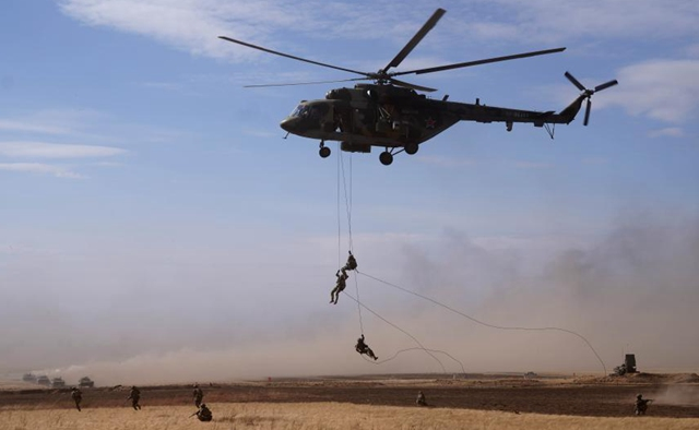 """SCO """"Peace Mission 2021"""" live-fire drill conducted in Russia"""