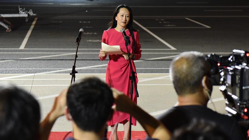 Meng Wanzhou back in China