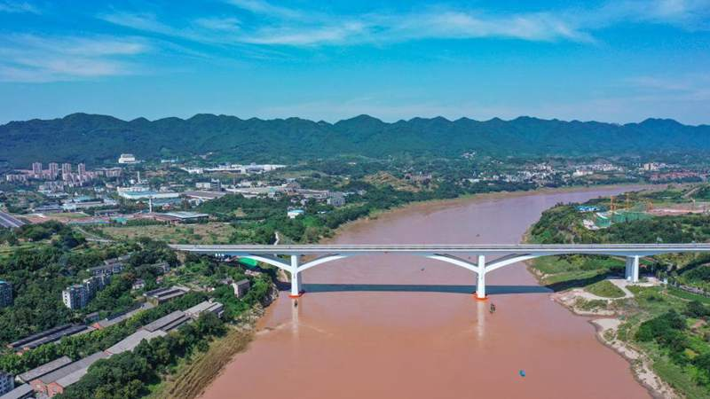 Lijia Jialing River Bridge expected to start operation