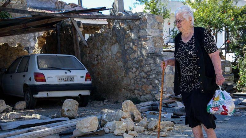 One dead, 12 injured as 5.8-magnitude quake hits Greece's Crete