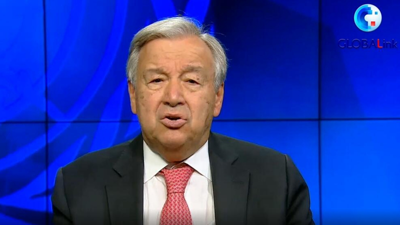 GLOBALink | Guterres urges bold actions to end biodiversity crisis