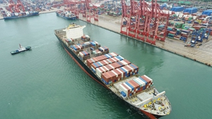 Chinas coastal bulk freight index up in Sept.