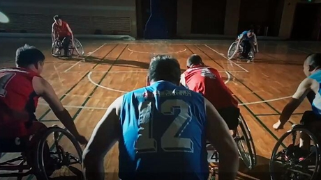 Wheelchair basketball gives amputee new lease of life