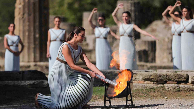 GLOBALink | Olympic Flame for Beijing 2022 Winter Games lit in Greece