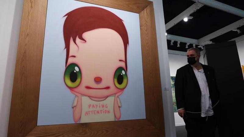 2021 Int'l Contemporary Art Fair opens in Paris, France