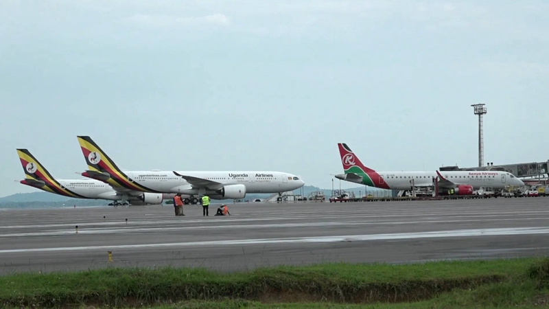 GLOBALink | China revitalizes Uganda's aging airport to carry more int'l traffic