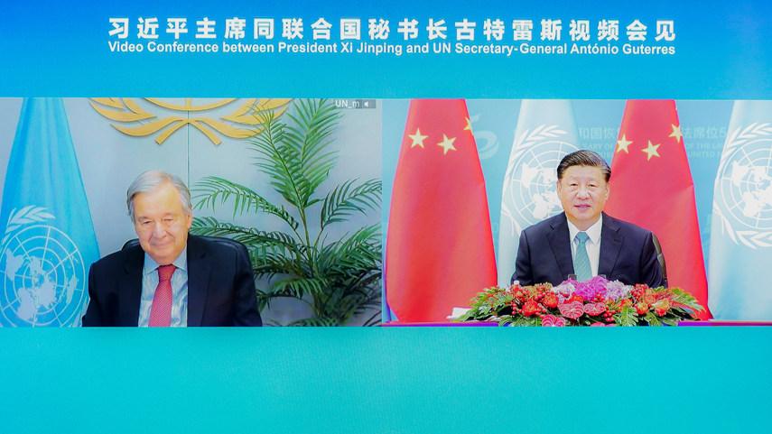 Xi pledges enhanced coordination with UN for balanced, inclusive global development