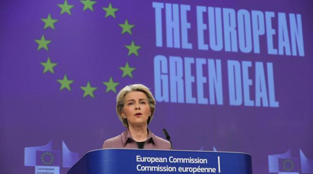 EU Commission president von der Leyen speaks ahead of G20 Summit, COP26