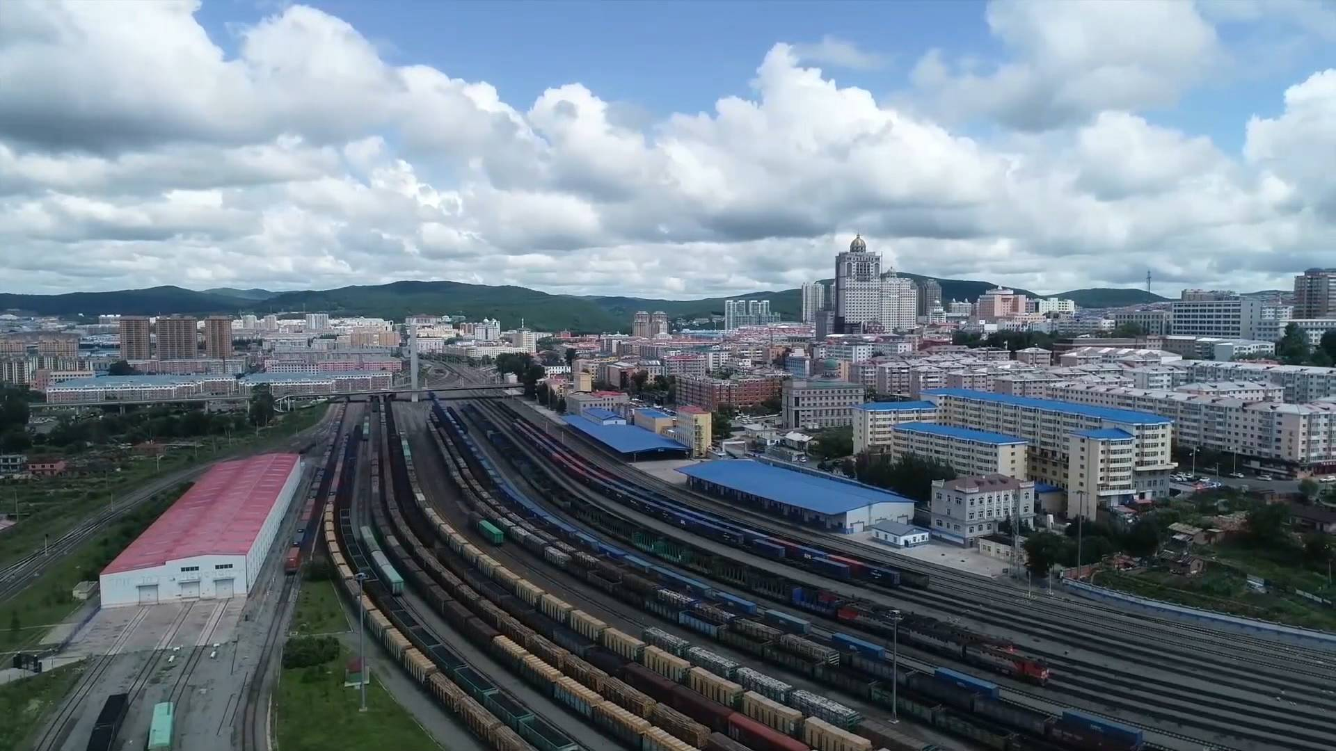 GLOBALink | NE China ports handle over 3,000 China-Europe freight trains