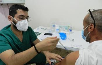 COVID-19 vaccination underway in Lebanon