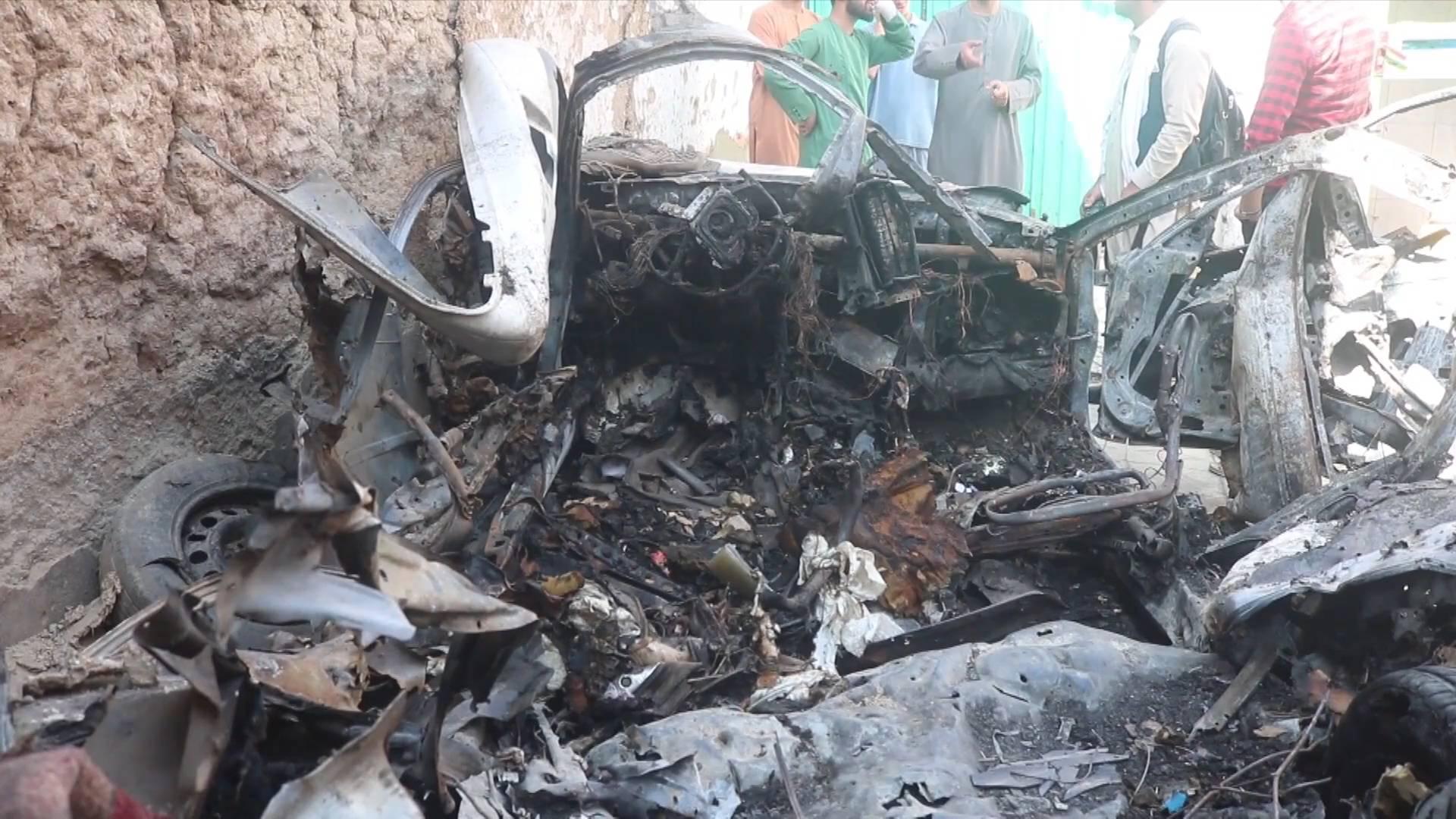 GLOBALink   Neighbor, relative of drone strike victims lambaste U.S. killing in Afghanistan