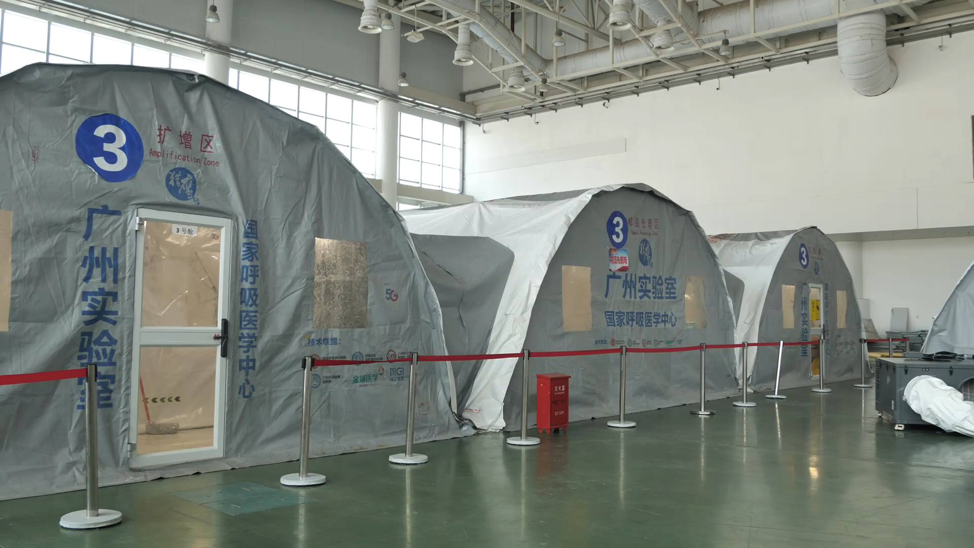 """GLOBALink   """"Falcon"""" testing labs accelerate nucleic acid testing in China's Xiamen"""