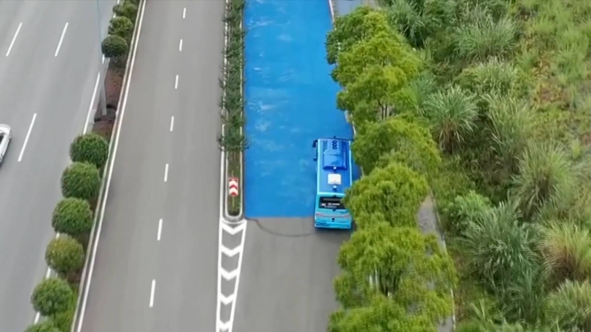 Trial operations of SW China's Chongqing's first self-driving bus route begin