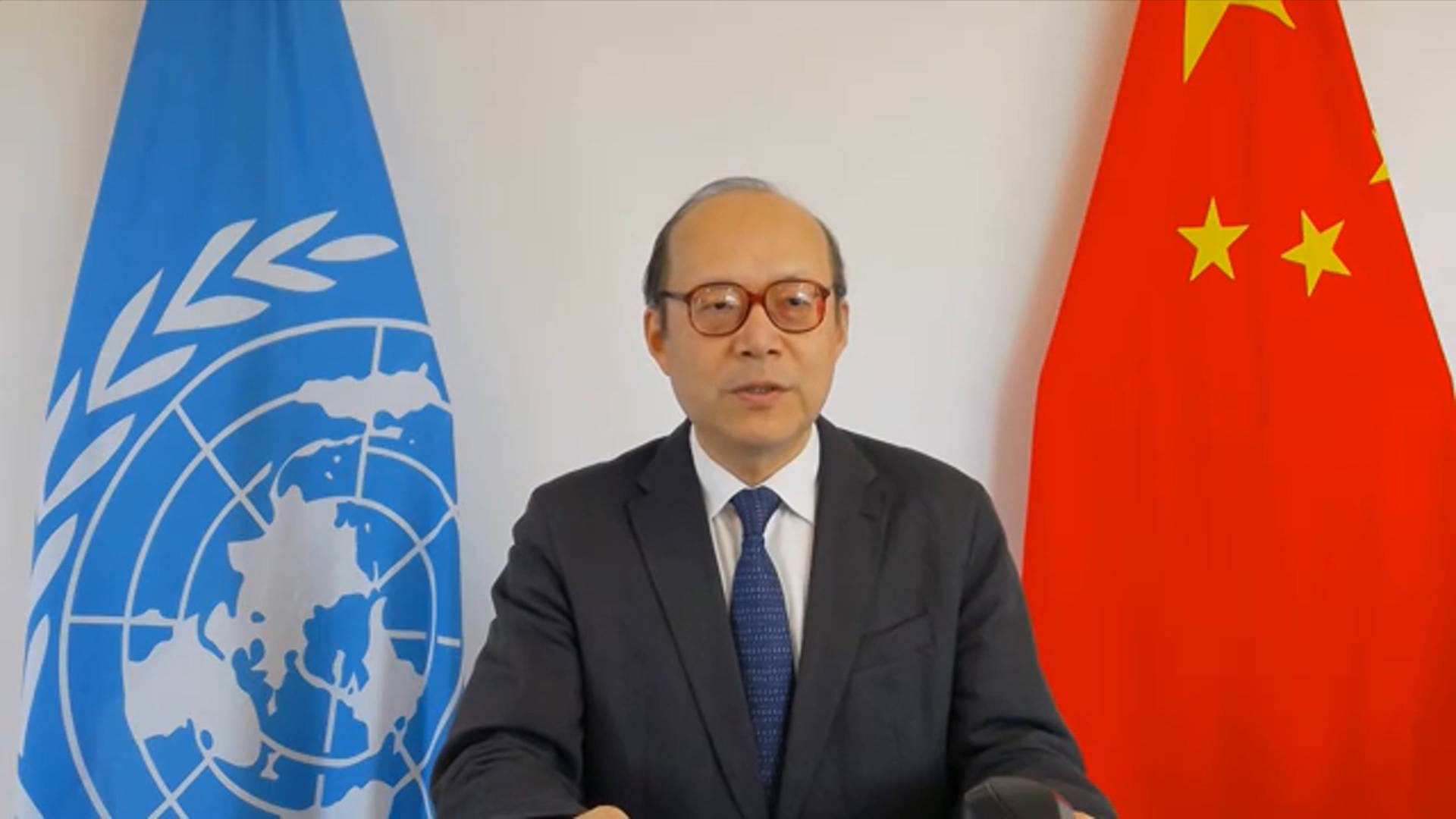 GLOBALink | Wars, conflicts main causes of large-scale human rights violations: Chinese diplomat