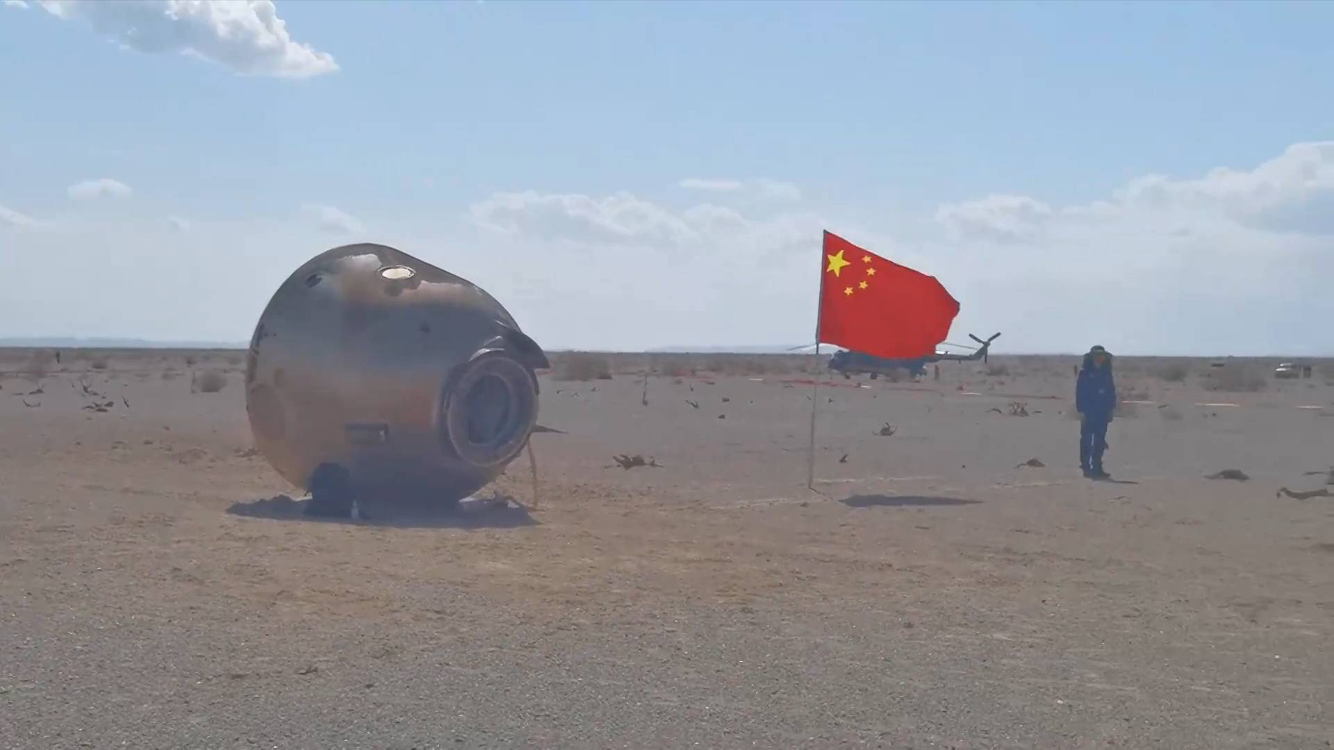 GLOBALink   China completes three-month manned mission for space station construction