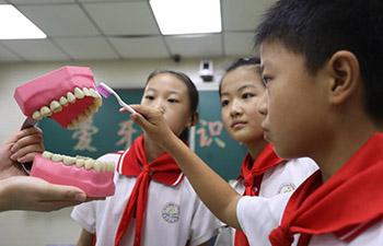 China's Dental Care Day marked in Lincheng, Hebei