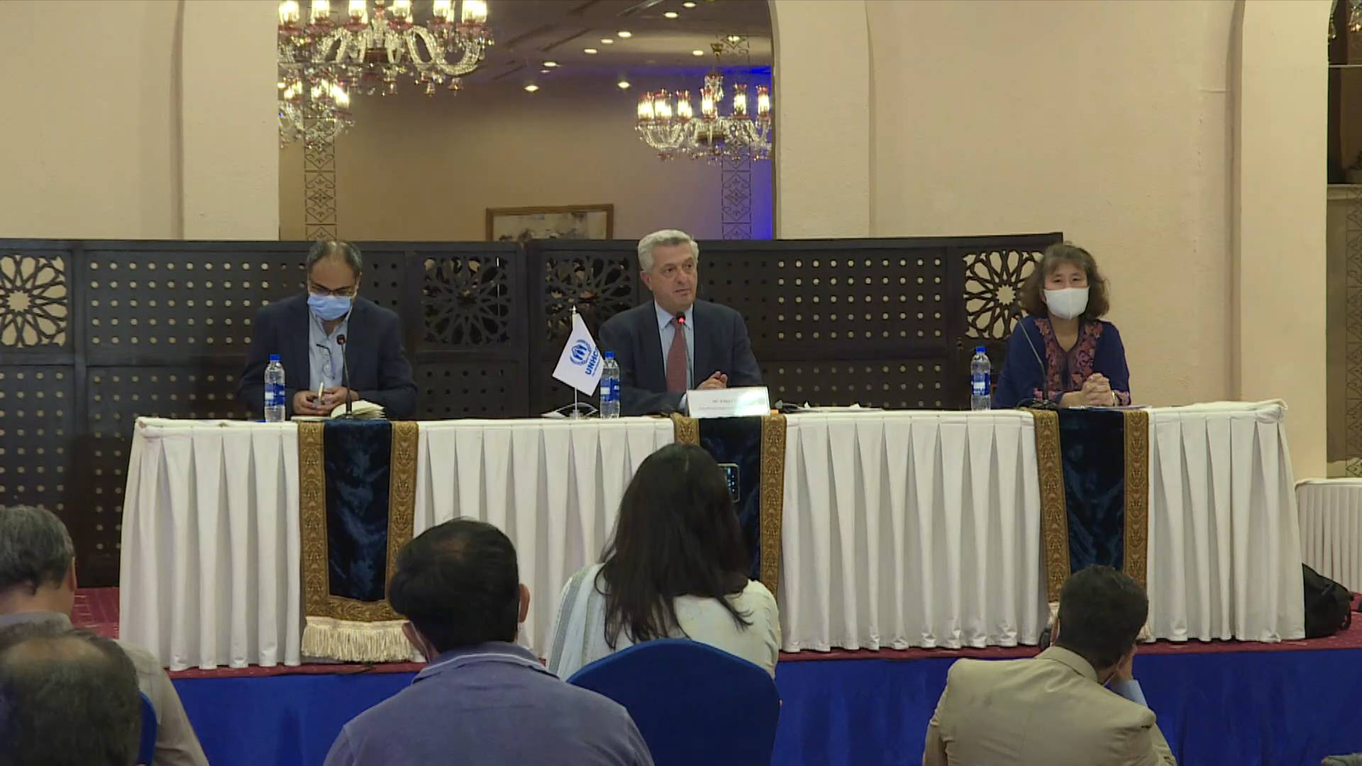 UNHCR urges international community to continue engaging with Taliban