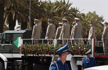 Algeria holds funeral for late ex-president Bouteflika