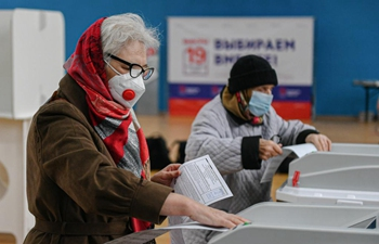 Russia holds elections for deputies of State Duma