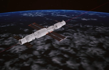 China Focus: China's cargo craft docks with space station core module