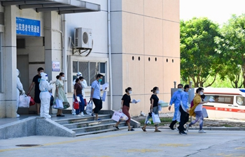 COVID-19 patients discharged from hospital in Xiamen, Fujian