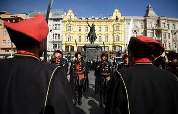 World Cravat Day celebrated in Zagreb, Croatia