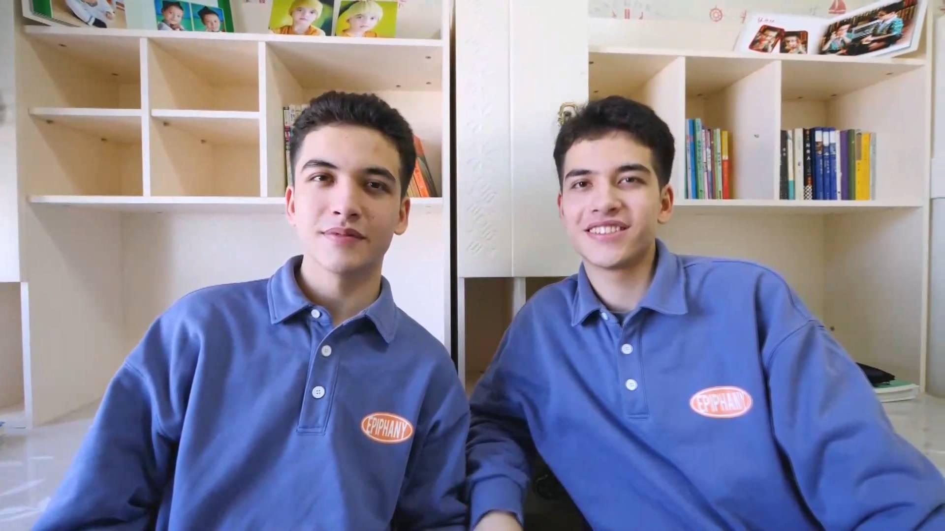 GLOBALink   Xinjiang, My home: Life of twin brothers in Korla City