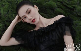 劉詩詩登時尚雜志開季刊 演繹人與自然之美