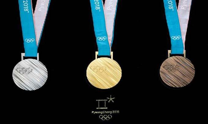 平昌冬奧會金牌是奧運史上最重的一枚金牌