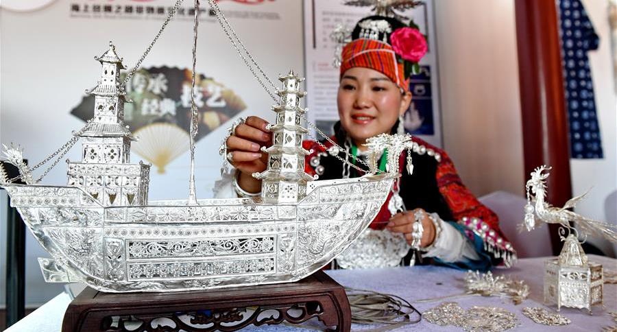 海上絲綢之路非物質文化遺産展在泉州舉行