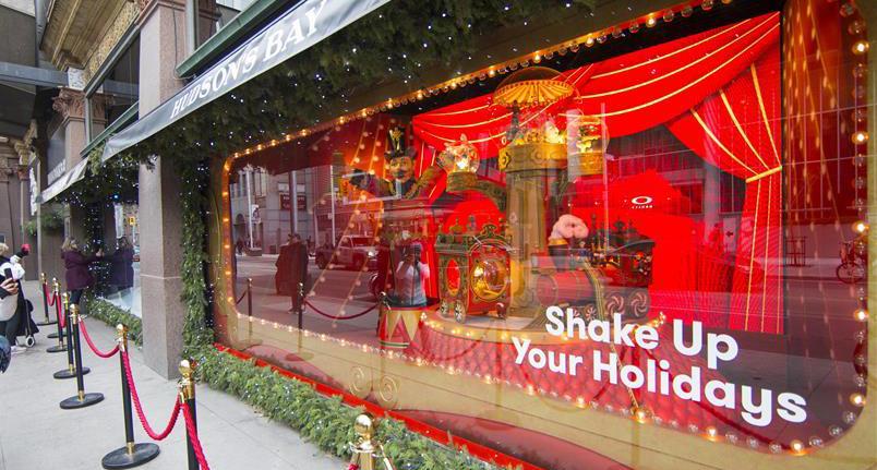 多倫多聖誕櫥窗秀
