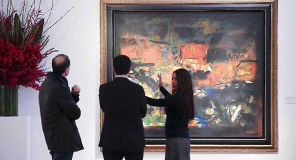 紐約2018春季亞洲藝術展舉行拍賣預展