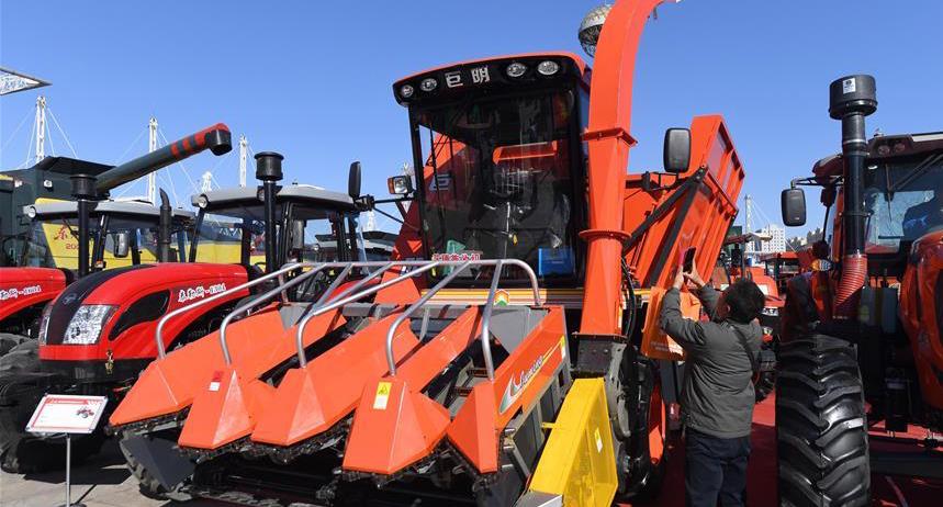吉林舉辦現代農業機械裝備展