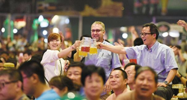 沉醉西海岸,盡在青島啤酒節