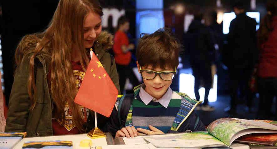 中國圖書在羅馬尼亞高迪亞姆斯國際圖書展上受歡迎