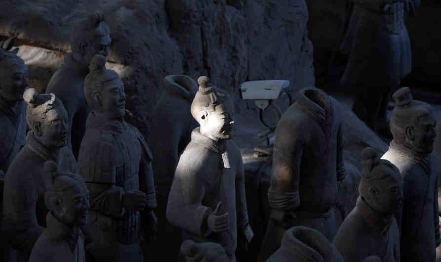 探訪陜西歷史博物館館藏文物