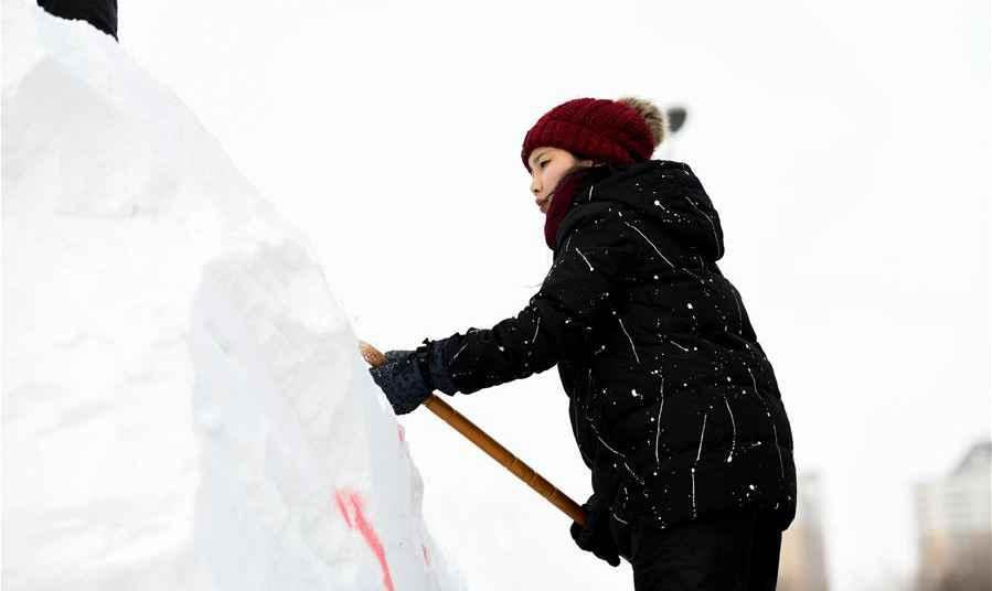 2019第十一屆國際大學生雪雕大賽開鏟