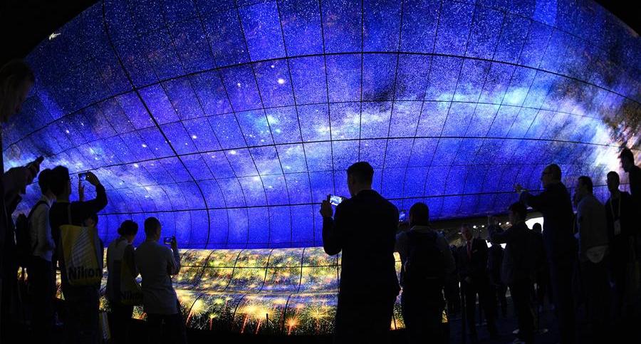 拉斯維加斯消費電子展上的視覺盛宴