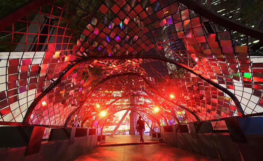 新加坡舉行晝夜璀璨藝術節媒體預展