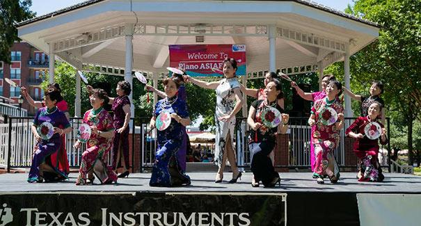 美國達拉斯舉辦亞洲節