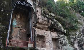 """千年安岳石刻正在""""苏醒"""""""