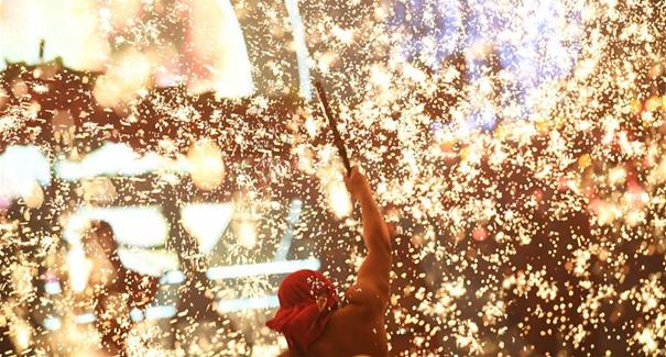 重慶銅梁舉辦中華龍燈藝術節