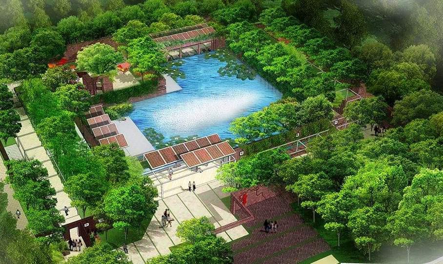 北京世園會百個室外展園建設順利推進