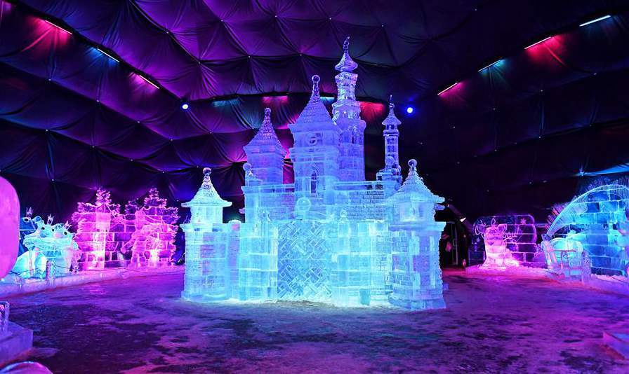 莫斯科冰雕展