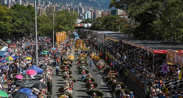 第62屆哥倫比亞麥德林鮮花節落幕