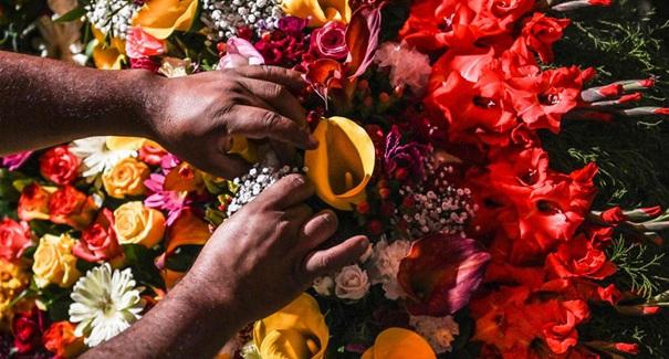 哥倫比亞麥德林鮮花節掠影